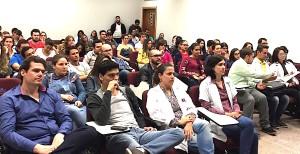 Audiência na palestra sobre a RSM na Uningá em 20/08/15