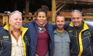 Comissão organizadora: Rubens Gunther, Lara Ribeiro, Thiago Greco e José Pedro Gunther