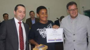 Entrega da premiação do 1o. Concurso Temático de Itapoá.